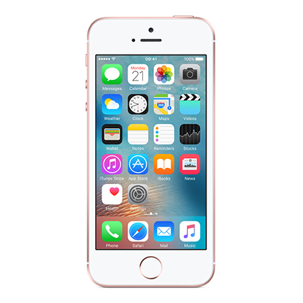iPhone SE 16GB on EE - £35 monthly 1 year