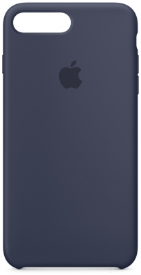 Apple - For - iPhone - 7 Plus - Silicone - Case - Midnight Blue