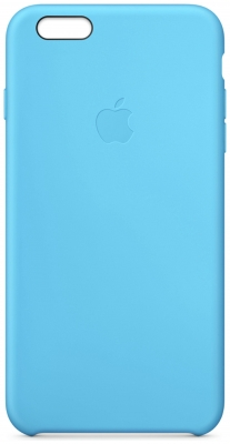IPhone 6 Plus Silicone Case - Bl