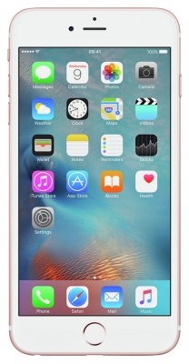 Sim Free Apple iPhone 6S Plus 128GB Mobile Phone - Rose Gold