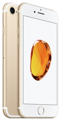 Sim Free iPhone 7 128GB Mobile Phone - Gold