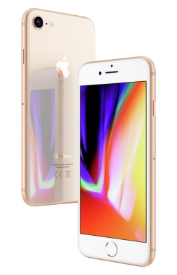 Apple iPhone 8 - 256GB Mobile Phone - Gold Pay As You Go