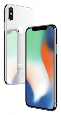 Apple iPhone X 64GB Silver - Sim Free