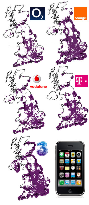 Map Of Uk 3g Coverage.Iphone Coverage 3g Uk Iphone Prices